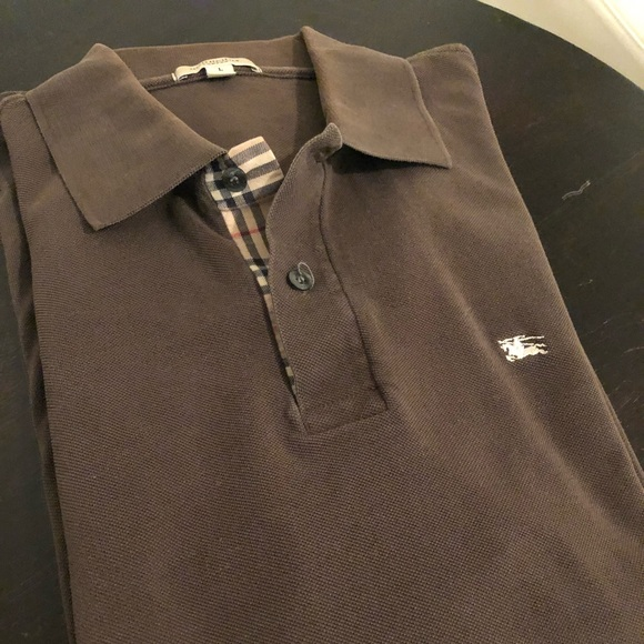 Burberry Other - EUC Men's Burberry polo s/s